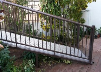 DISABLE RAMP AND BALUSTRADING