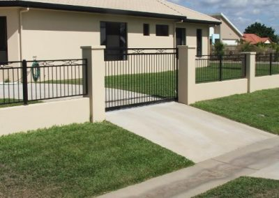 FEATURE FENCE AND GATES