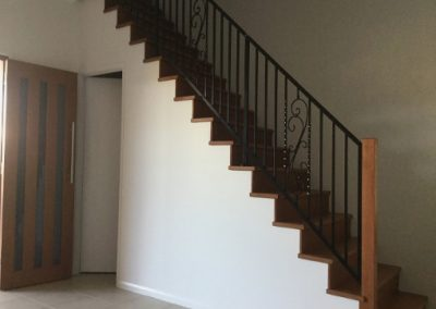 CUSTOM STAIR SCROLL BALUSTRADING