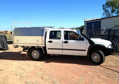 Work Ute Enclosed Canopy