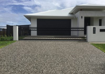 EXTRA LARGE CUSTOM SCROLL SLIDING GATE